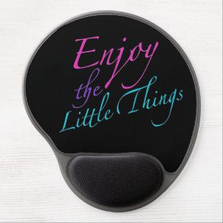 Positve Words Enjoy Life Quote Gel Mouse Mat