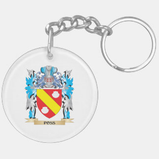 Poss Coat of Arms - Family Crest Acrylic Key Chain