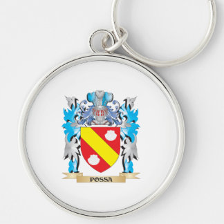 Possa Coat of Arms - Family Crest Keychain