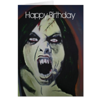 'Possession' Birthday Card