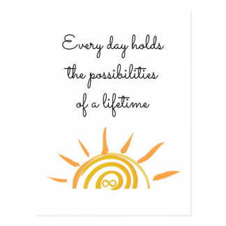 Possibilities of a Lifetime Postcard
