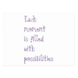 Possibilities Postcard