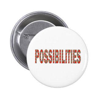 POSSIBILITIES : Wisdom Words Coach Mentor LOWPRICE 6 Cm Round Badge