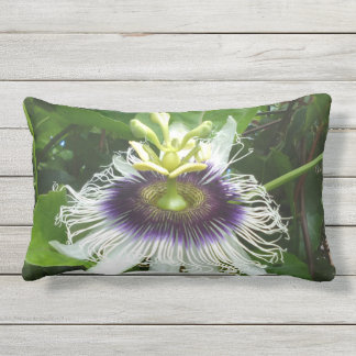 POSSION FRUIT FLOWER OUTDOOR CUSHION