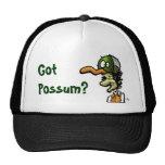 Possum, Got Possum? caps