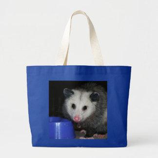 Possum! Large Tote Bag