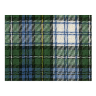 Post Card Campbell Dress Ancient Tartan Print