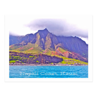 POST CARD, FLUTED-CLIFFS OF NAPALI COAST POSTCARD
