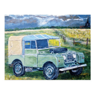 "Post Card ""FREYA"" The Series 1 Land Rover ..."