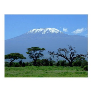 Post Card From Mount Kilimanjaro