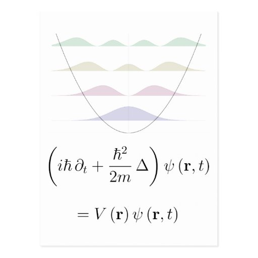 post card, harmonic oscillator
