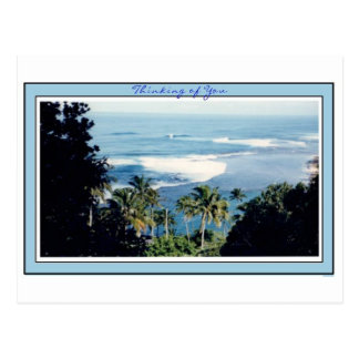 Post Card-Kauai s Ke e Beach
