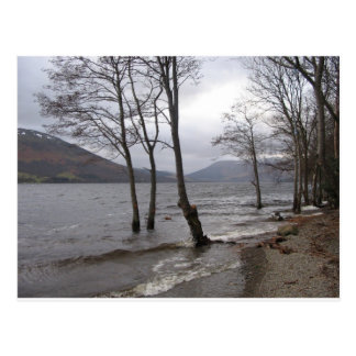 Post card of shores of Loch Earn