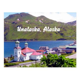 Post Card of Unalaska, Alaska