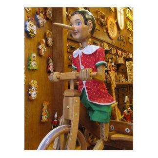 Post Card--Pinocchio Postcard