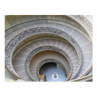 Post Card--Spiral Staircase Postcard