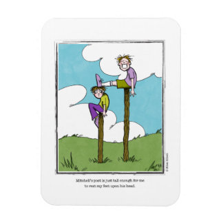 POST cartoon by Ellen Elliott Rectangular Photo Magnet