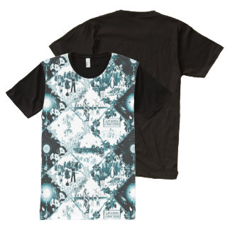 Post-Collapse Toil by Aleta All-Over Print T-Shirt