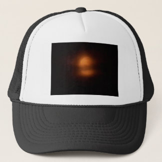 Post eclipse moon trucker hat