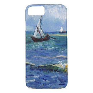 Post-Impressionist Boats at Sea Art, iPhone 7 iPhone 8/7 Case