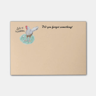 Post-it® Notes 4 x 3 Lulu the Chicken Reminders