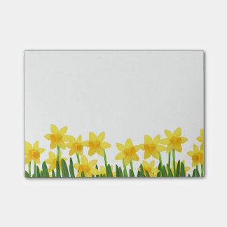Post-it-Notes-Daffodils Post-it Notes