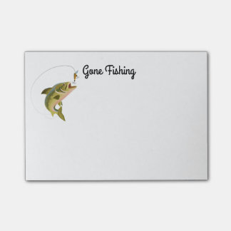 Post-it-Notes-Fishing Post-it Notes