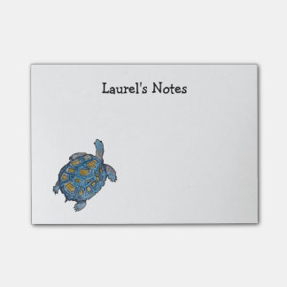 Post it Notes with Desert Tortoise