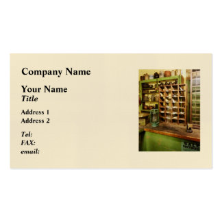 Post Office In General Store Business Card