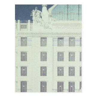 Post Office Savings Bank, Vienna Postcard