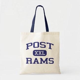 Post - Rams - Junior - Detroit Michigan Tote Bags