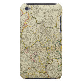 Post roads Germany, Hungary iPod Case-Mate Cases