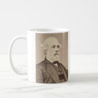 Post War Portrait of General Robert E. Lee Basic White Mug