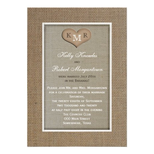 Post Wedding Invitations and get inspiration to create nice invitation ideas