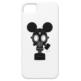 Post World Zuno : Gas Mask 01 Case For The iPhone 5