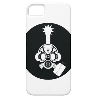 Post World Zuno : Gas Mask 02 iPhone 5 Case