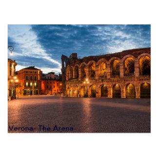 Postacard Arena of Verona Postcard