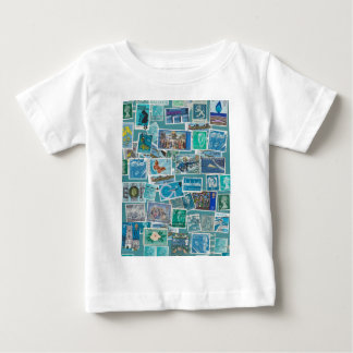 Postage Bleu Shirts