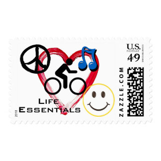 """Postage Stamps, """"Life is a Cycle"""""""