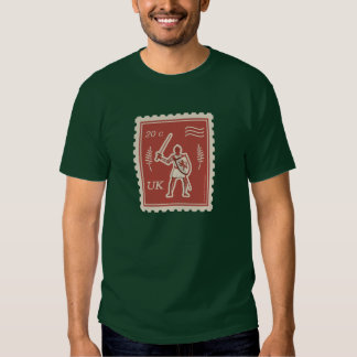 Postal Art Medieval Knight - T-Shirt