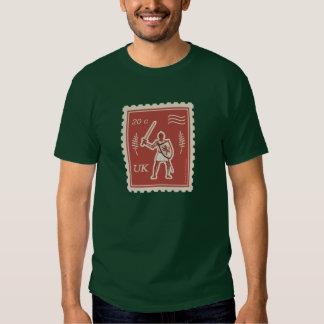 Postal Art Medieval Knight - T-Shirt