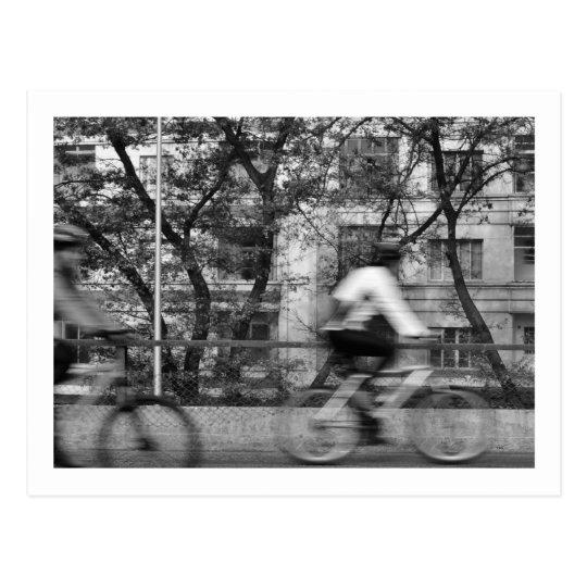 Postal card - Bicycles in the Minhocão (Nº2)