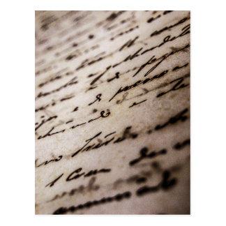 Postal card: Historical document Postcard