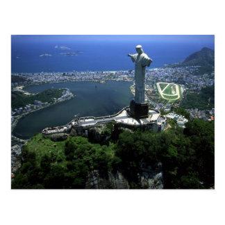 POSTAL CARD RIO DE JANEIRO BRAZIL
