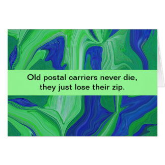 postal carriers humor card