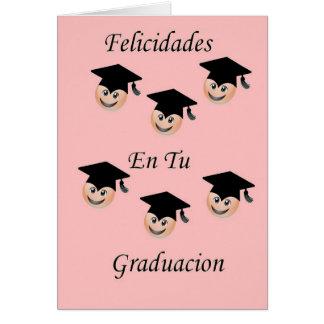 Postal Graduacion femenina Card