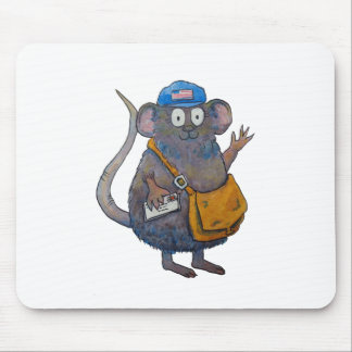 Postal Post Mail Carrier Postman Thank You Mouse Mouse Mat