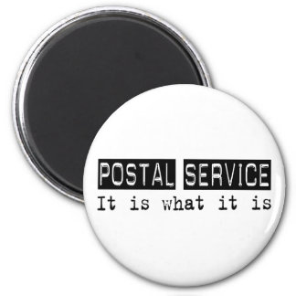 Postal Service It Is 6 Cm Round Magnet