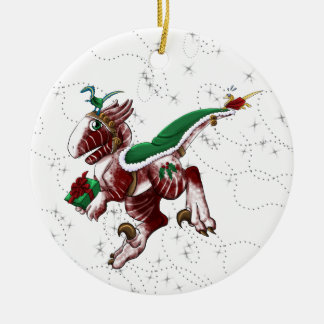 Postal Shivae Christmas Ornament