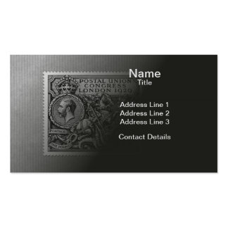 Postal Union Congress 1929 1 Pound Postage Stamp Double-Sided Standard Business Cards (Pack Of 100)